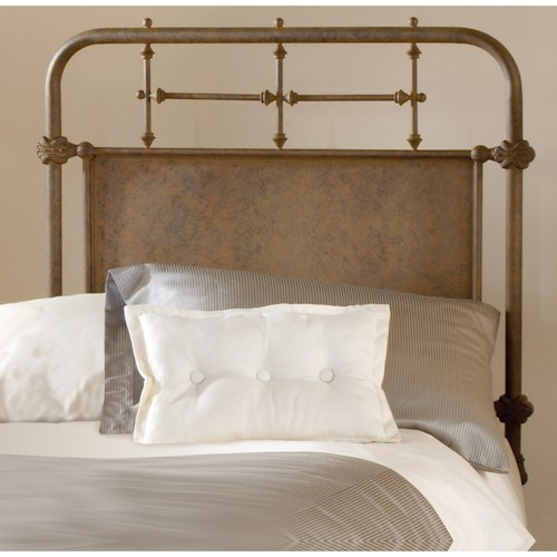 Hillsdale Metal Beds Twin Kensington Headboard Set with Rails