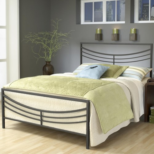 Hillsdale Metal Beds Full Kingston Bed