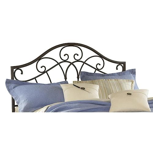 Hillsdale Metal Beds Josephine Full/ Queen Headboard with Romantic Design