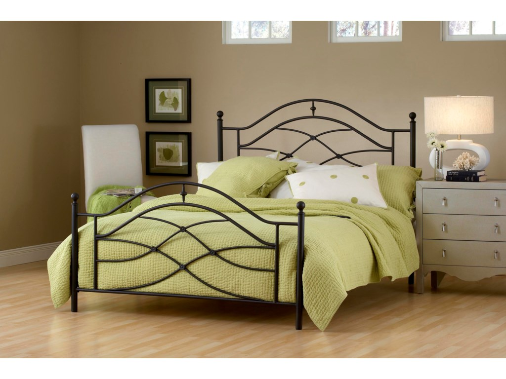 Hillsdale Metal BedsCole King Bed
