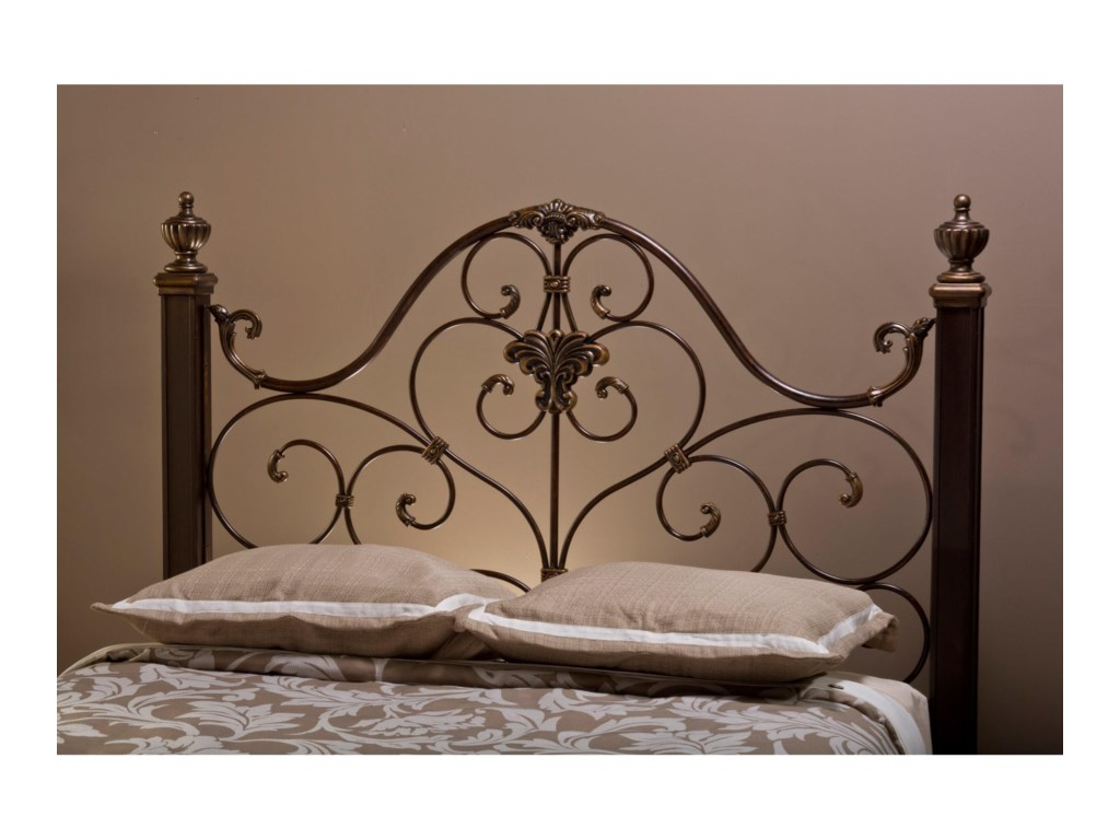 Hillsdale Metal BedsQueen Headboard with Rails
