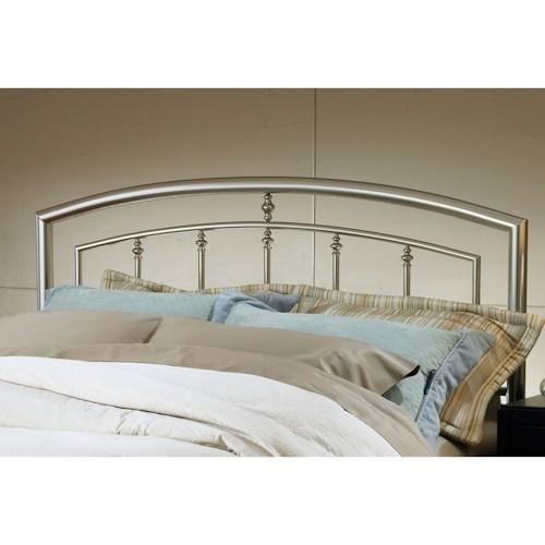 Hillsdale Metal Beds King Claudia Headboard with Rails