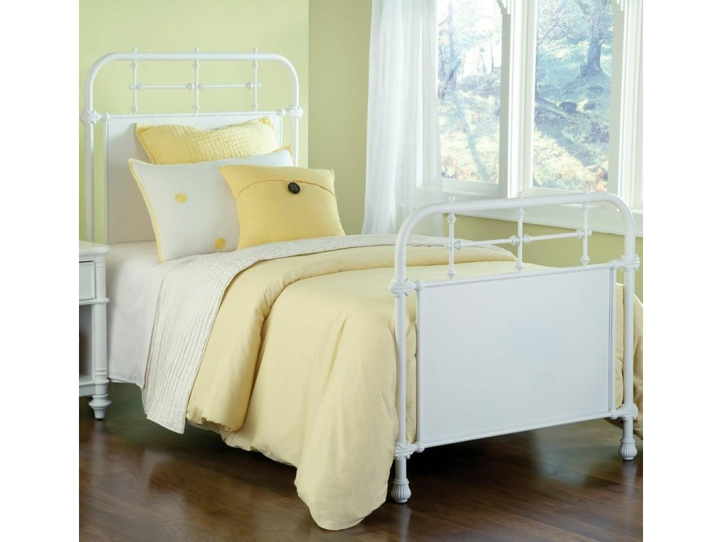 This bed is available in twin, full, queen and king sizes.