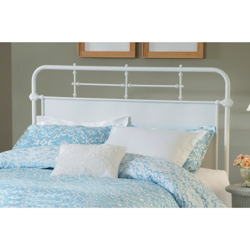 Hillsdale Metal Beds Full/Queen Kensington Headboard Set with Rails
