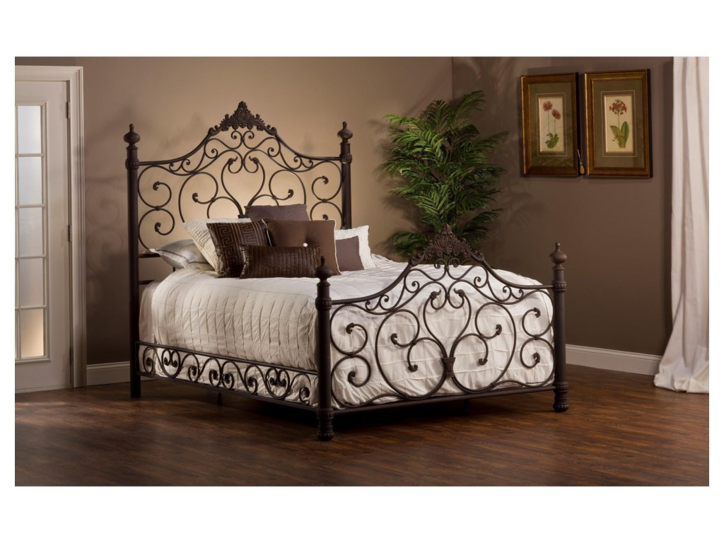 Hillsdale Metal BedsQueen Bed Set with Rails