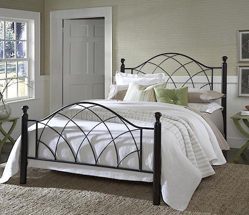 Hillsdale Metal Beds Vista Twin Bed Set