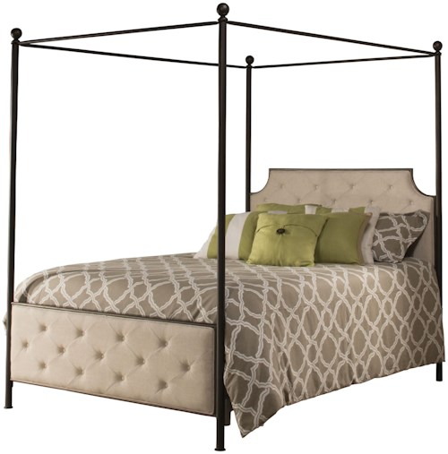 Hillsdale Metal Beds Canopy King Bed Set - Rails Not Included