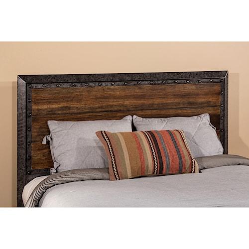 Hillsdale Metal Beds King Mackinac Headboard with Frame