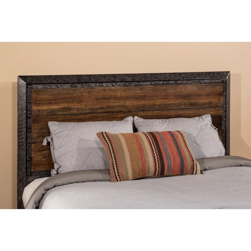 Hillsdale Metal Beds King Mackinac Headboard with Frame