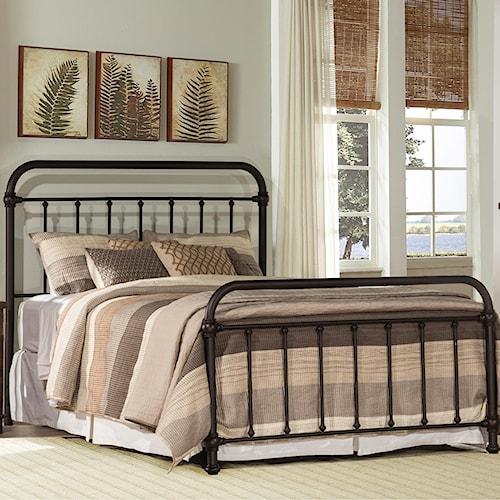 Hillsdale Metal Beds Classic Queen Metal Bed