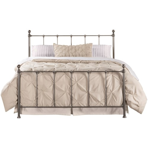 Hillsdale Metal Beds Queen Bed Set - Bed Frame Included