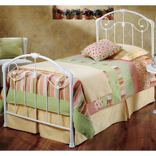 Hillsdale Metal Beds Mia Twin Bed