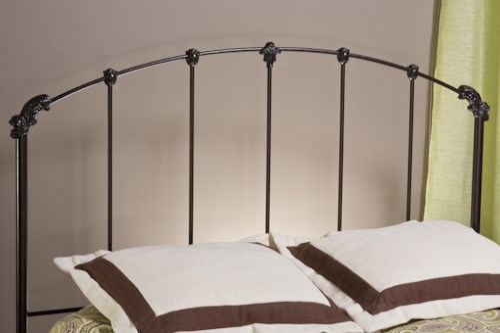 Hillsdale Metal Beds Bonita Metal Full/Queen Headboard with Rails