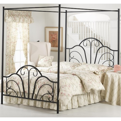 Hillsdale Metal Beds King Dover Bed