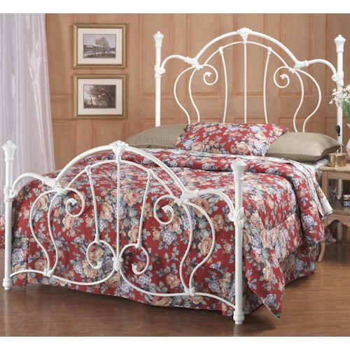 Hillsdale Metal Beds King Cherie Bed