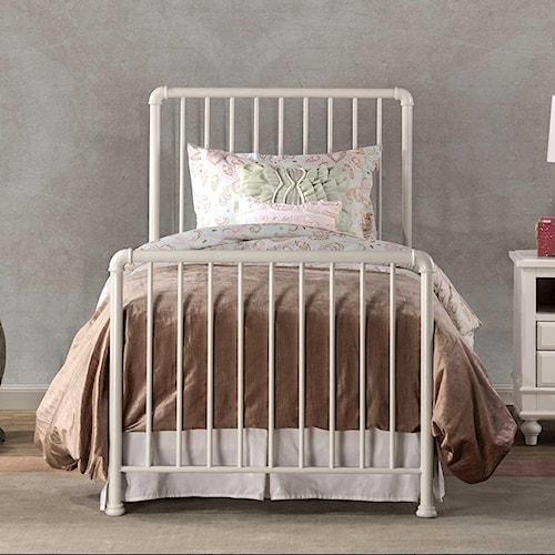 Hillsdale Brandi Simple Metal Full Bed Set, Frame Not Included