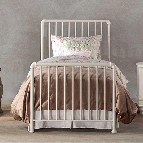 Hillsdale Brandi Simple Metal Full Bed Set with Frame