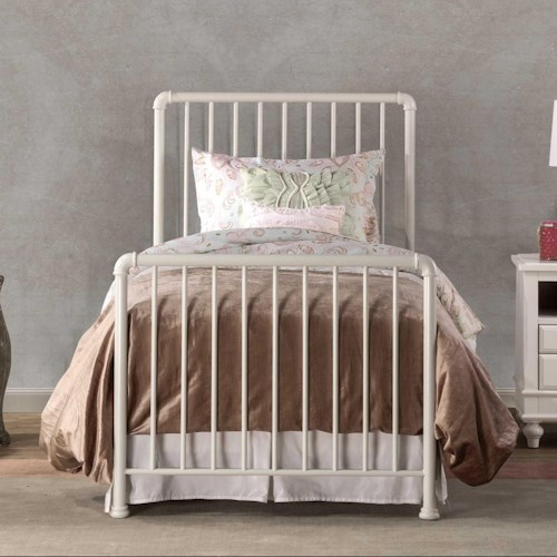 Hillsdale Brandi Simple Metal Queen Bed Set with Frame