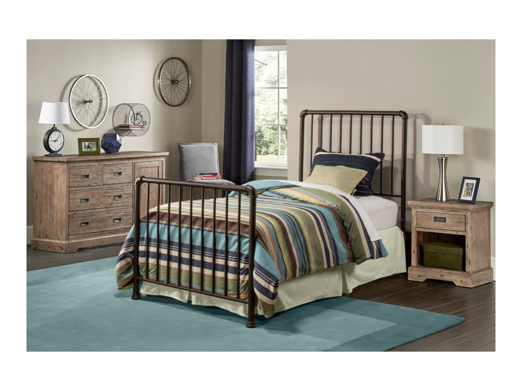 Hillsdale Brandi Twin Bed Set - Frame not Included