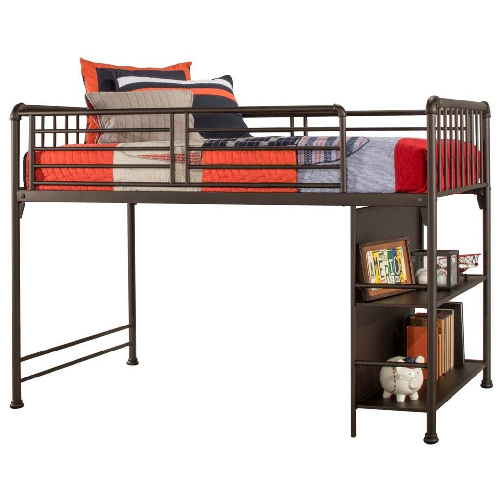Hillsdale Brandi Metal Twin Junior Loft Bed Sadler S Home