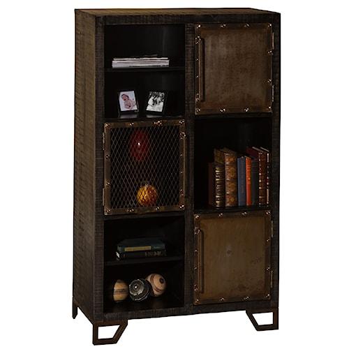 Hillsdale Bridgewater Rustic Display Cabinet