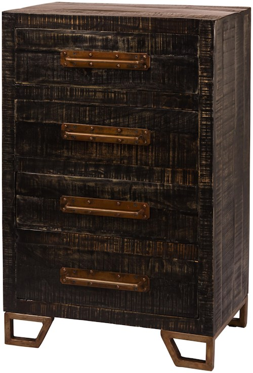 Hillsdale Bridgewater Rustic Chest of Drawers
