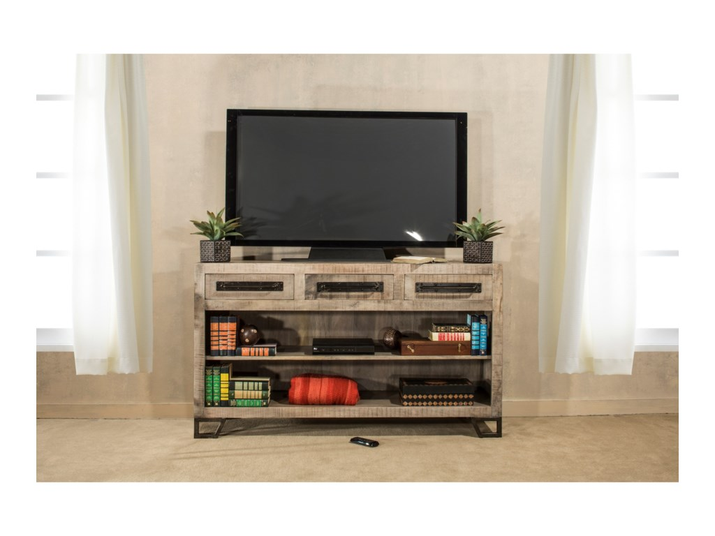 Hillsdale BridgewaterSofa Table with Wine Rack