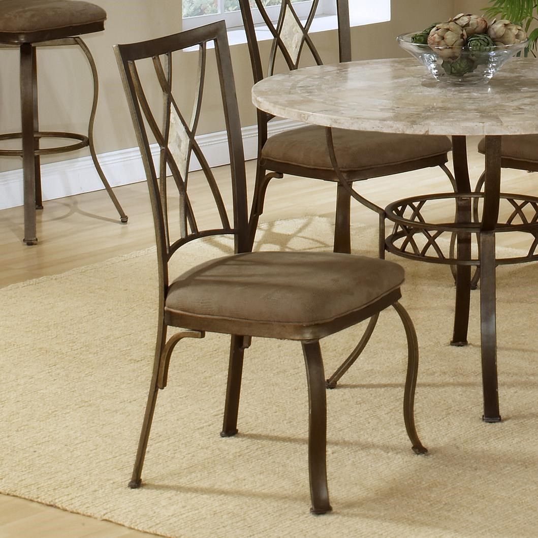 Hillsdale Brookside Diamond Fossil Back Dining Chair