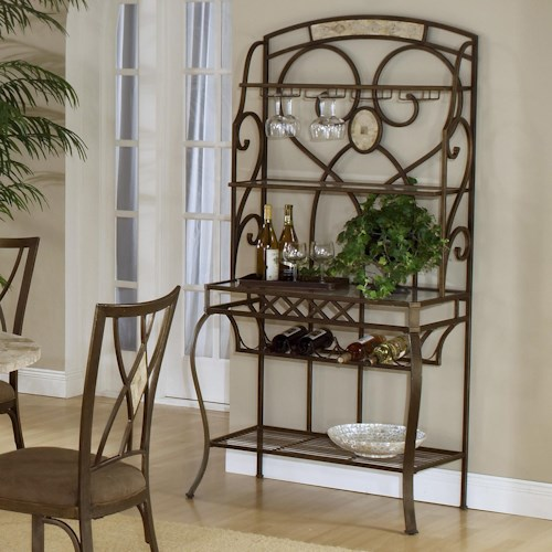 Hillsdale Brookside Baker's Rack