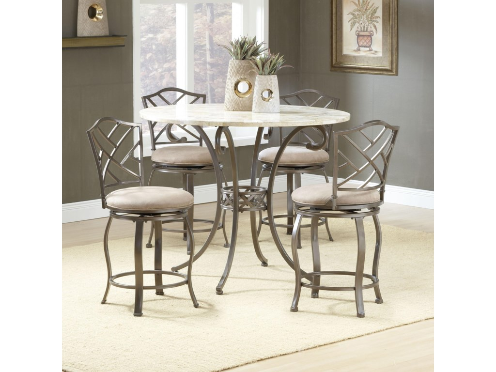 Shown with Hanover Stools