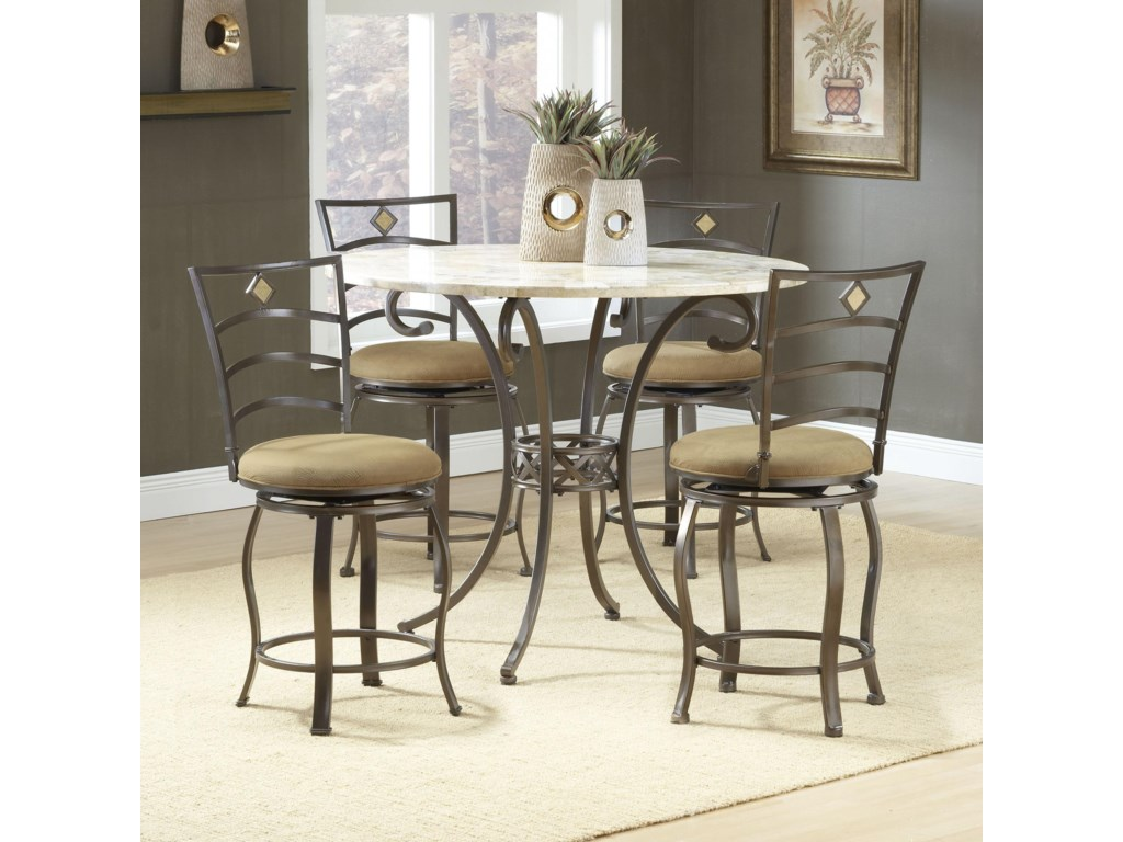 Shown with Marin Stools