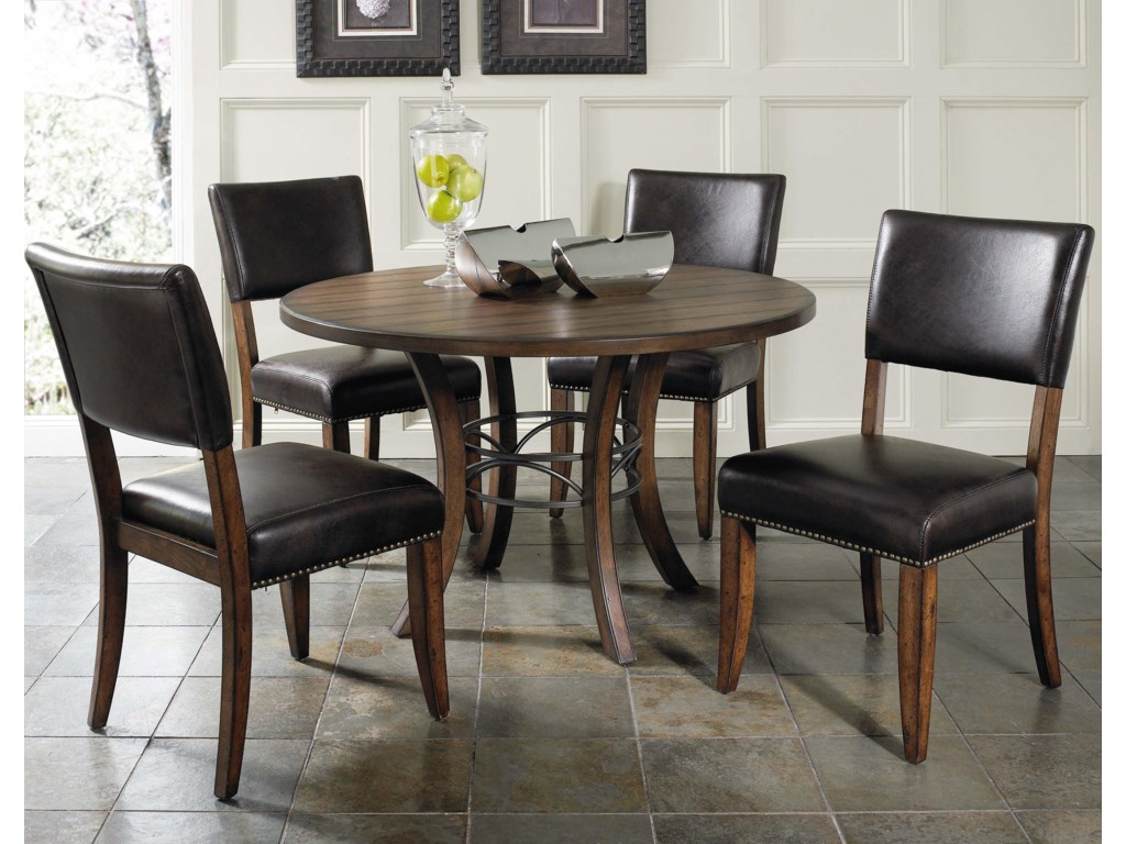 Hillsdale Cameron5 Piece Metal Ring Dining Set