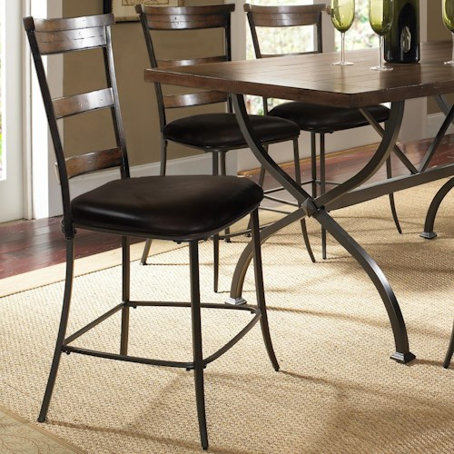 Hillsdale Cameron Ladder Back Counter Height Stool