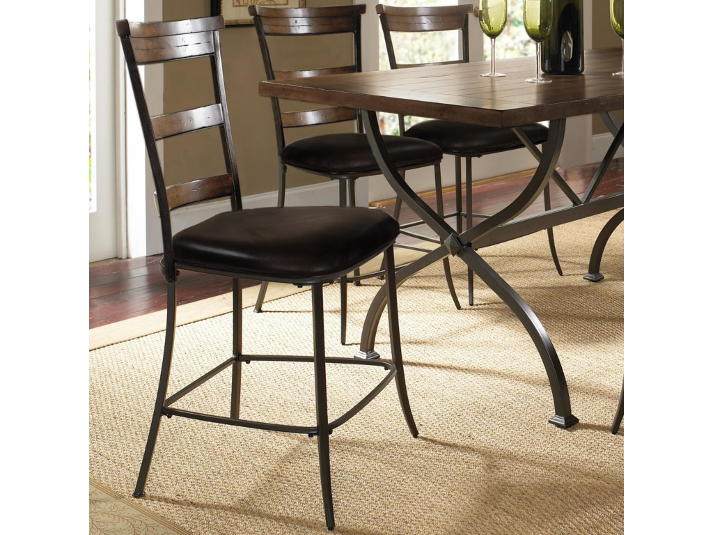 Hillsdale Cameron5 Piece Round Counter Height Dining Set