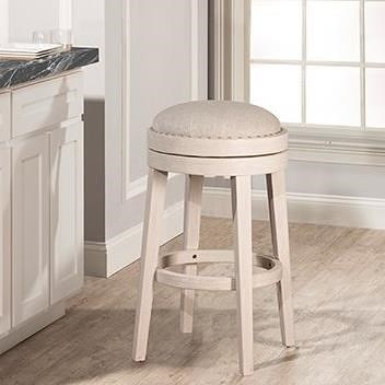 Hillsdale Carlito Backless Swivel Counter Stool
