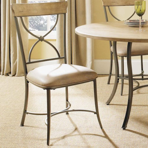 Hillsdale Charleston X-Back Side Dining Chair
