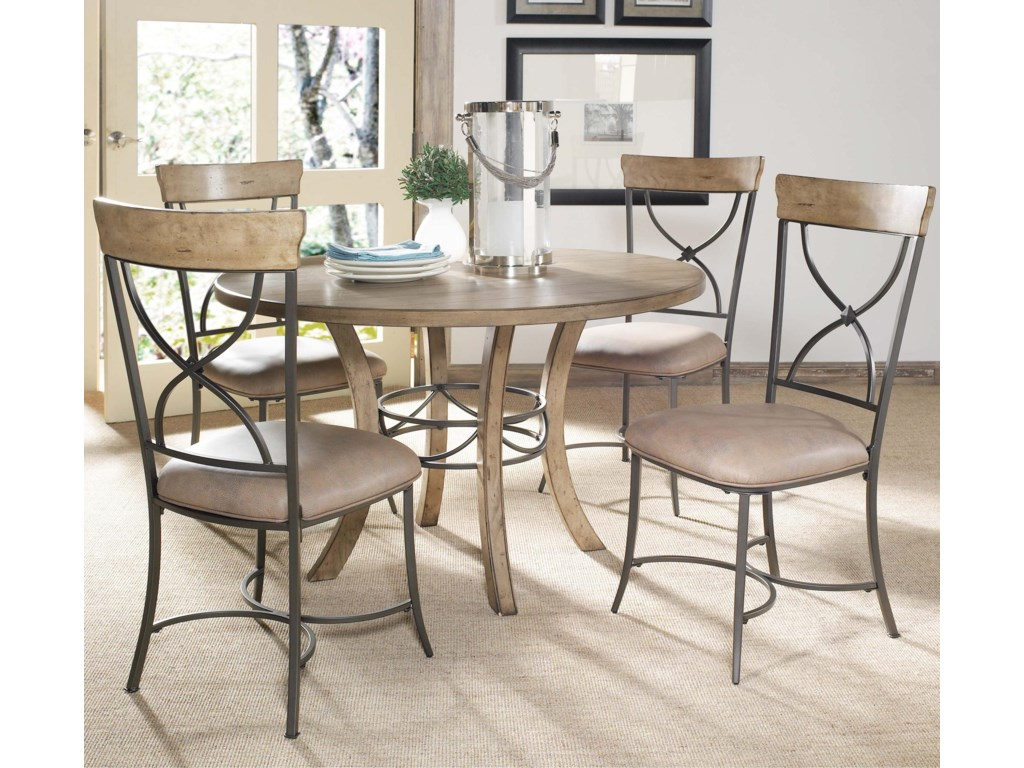 Shown with Round Wood Base Table