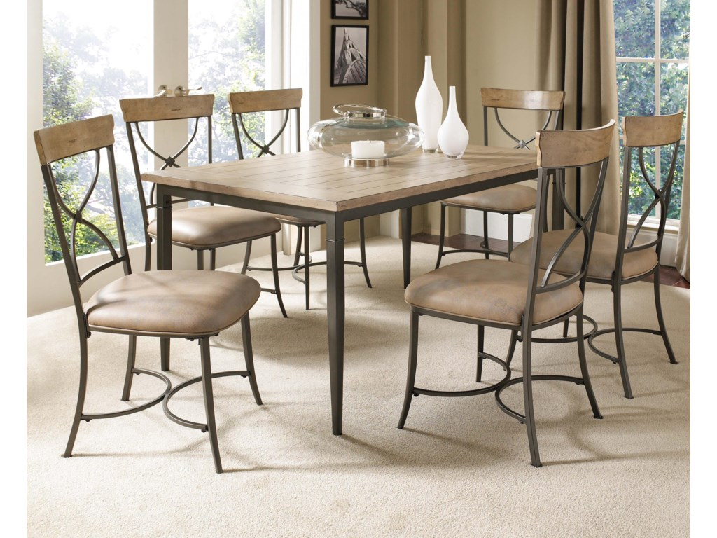 Shown with Rectangular Table