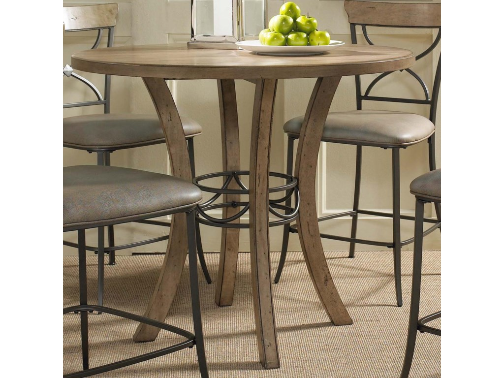 Hillsdale CharlestonWood Counter Height Table