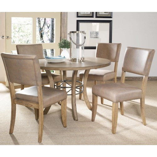 Hillsdale Charleston 5 Piece Dining Table and Chair Set