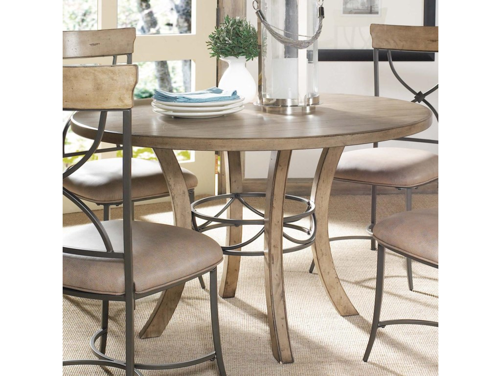 Hillsdale CharlestonRound Wood Table