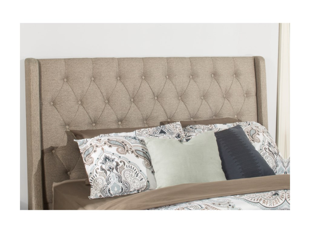 Hillsdale ChurchillQueen Upholstered Bed