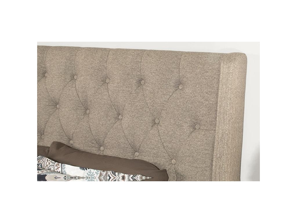 Hillsdale ChurchillKing Upholstered Bed