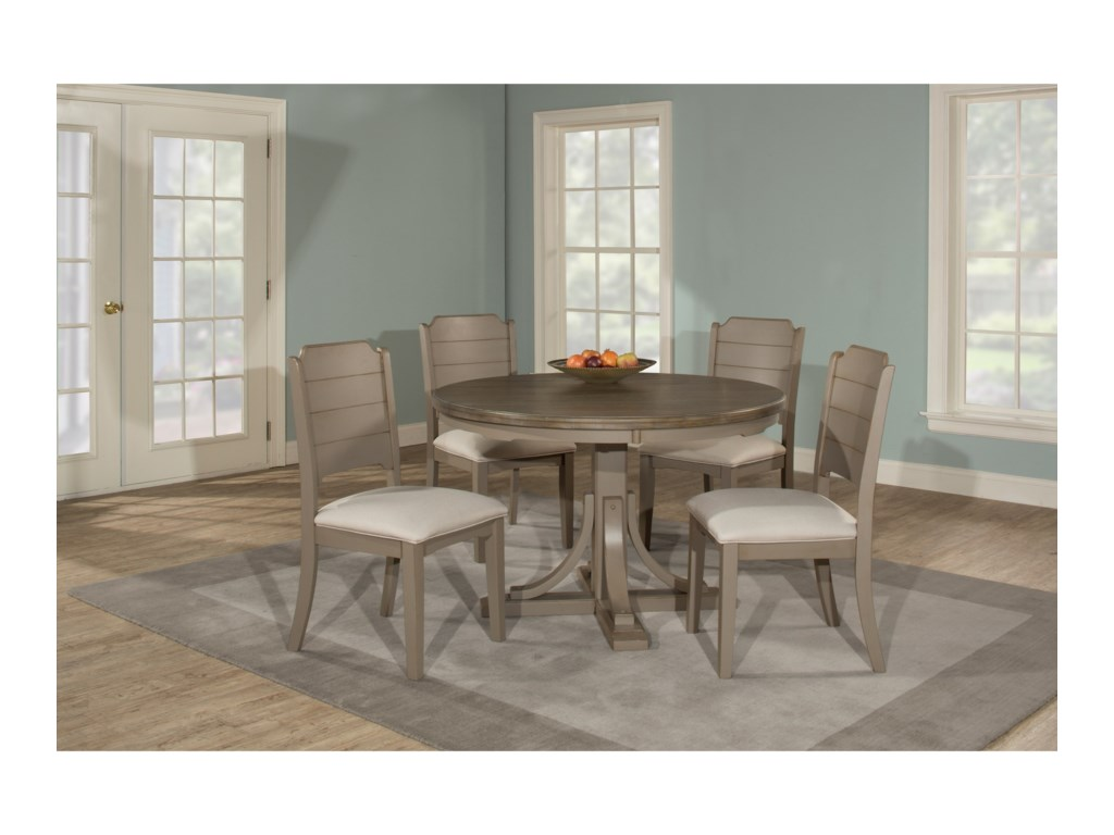 Hillsdale ClarionRound Dining Table