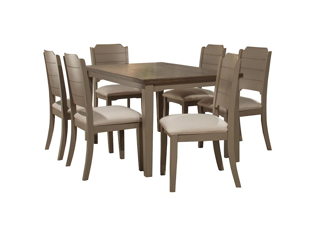 Hillsdale Clarion7-Piece Dining Set
