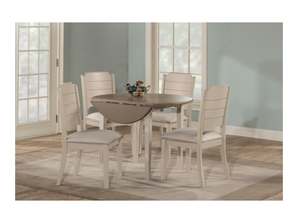 Hillsdale Clarion5-Piece Dining Set w/ Drop Leaf Table