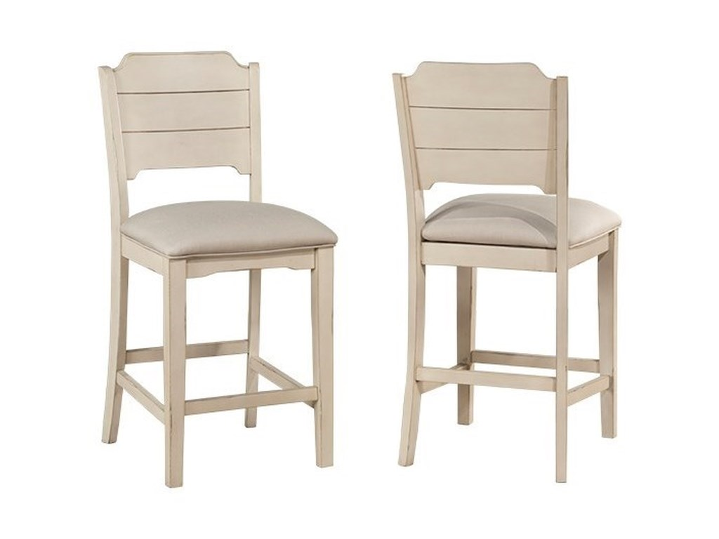 Hillsdale ClarionNon-Swivel Counter Height Stool -Set of 2