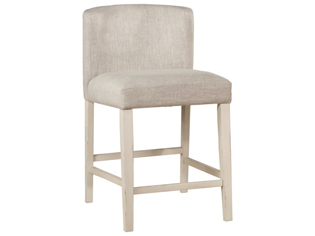 Hillsdale ClarionWing Arm Counter Stools - Set of 2