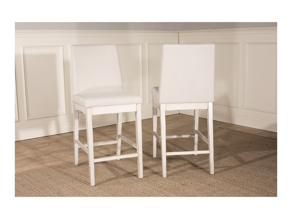 Hillsdale ClarionParson Counter Height Stool - Set of 2