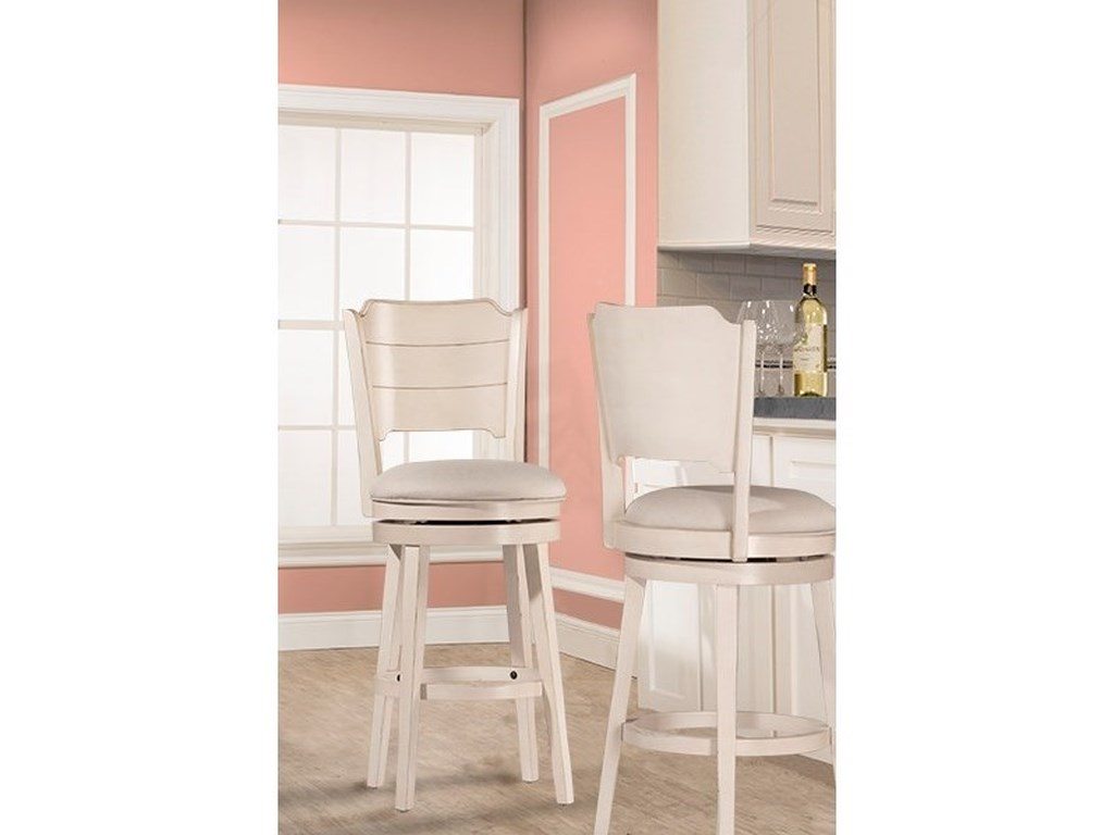 Hillsdale ClarionSwivel Bar Stool